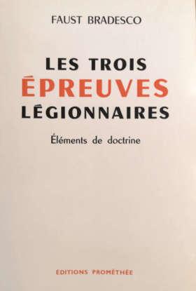 Les trois épreuves légionnaires - Eléments de doctrine